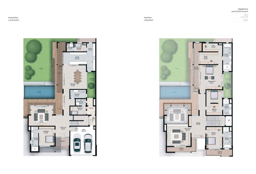 4 Bedroom Villas - Villa 4A