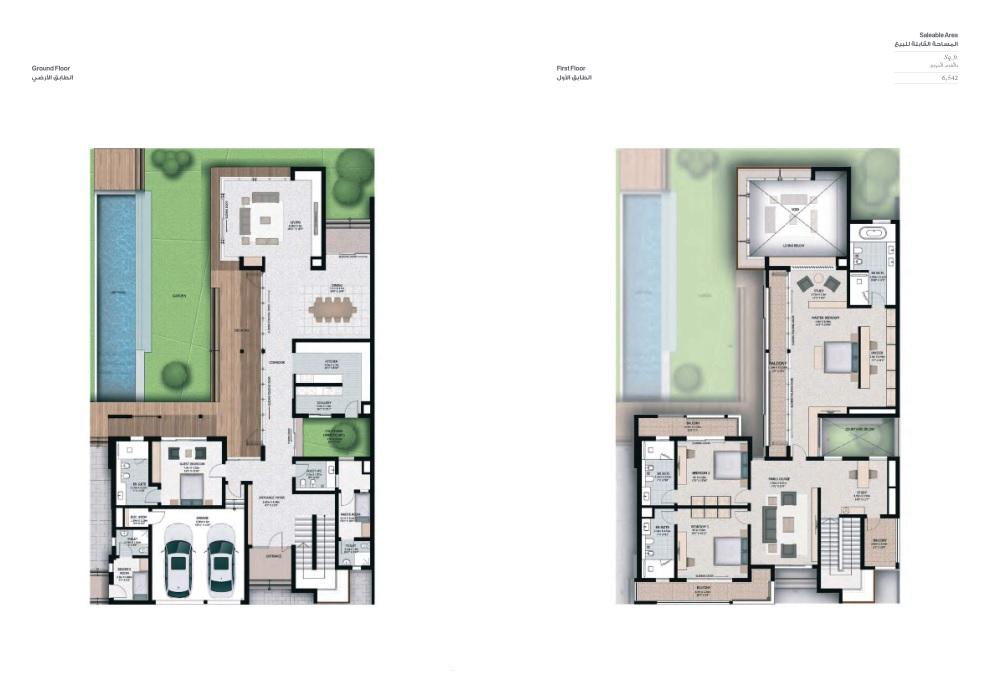 4 Bedroom Villas - Villa 4F