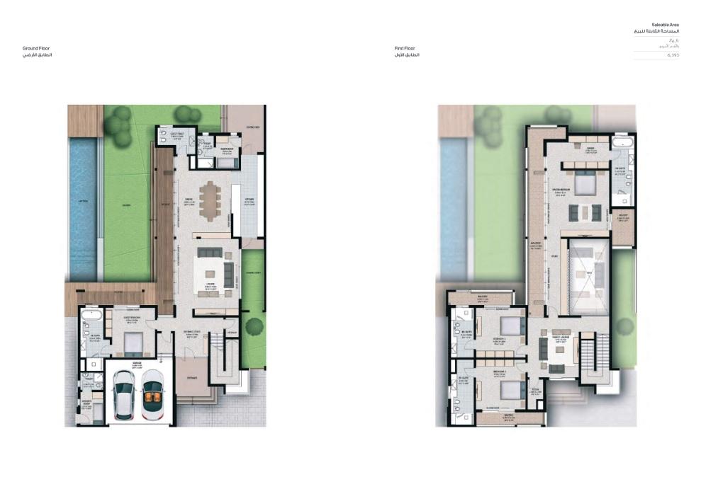 4 Bedroom Villas - Villa 4H