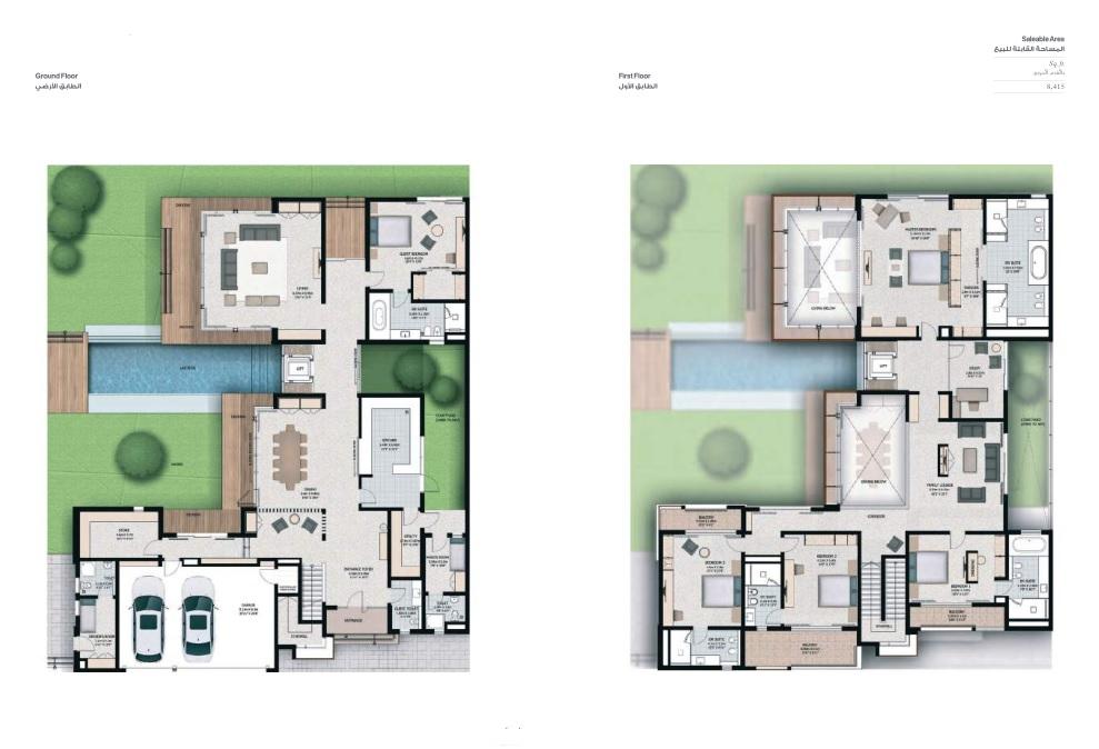 5 Bedroom Villas - Villa 5C