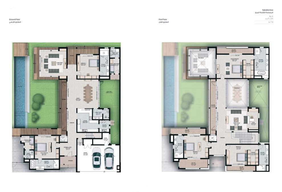 5 Bedroom Villas - Villa 5D