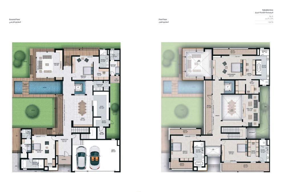 5 Bedroom Villas - Villa 5E