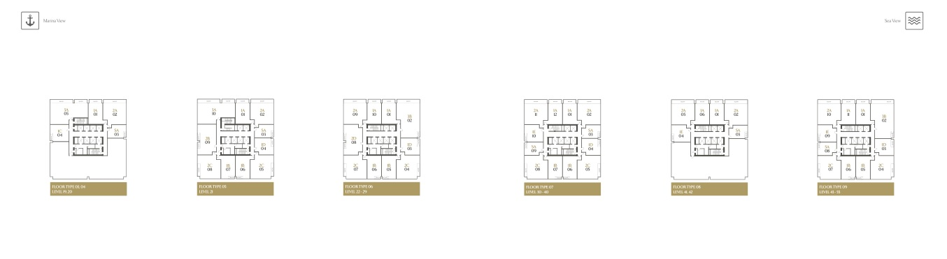 APARTMENT KEY PLANS