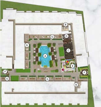 BELGRAVIA II AMENITIES PLAN