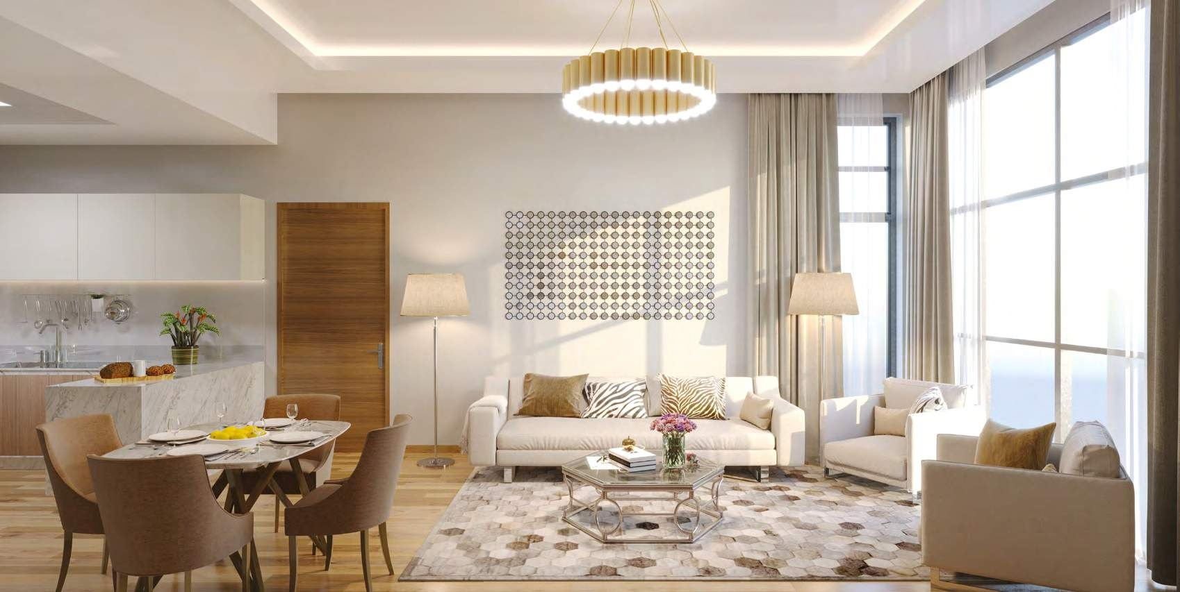 Contemporary Living Spaces