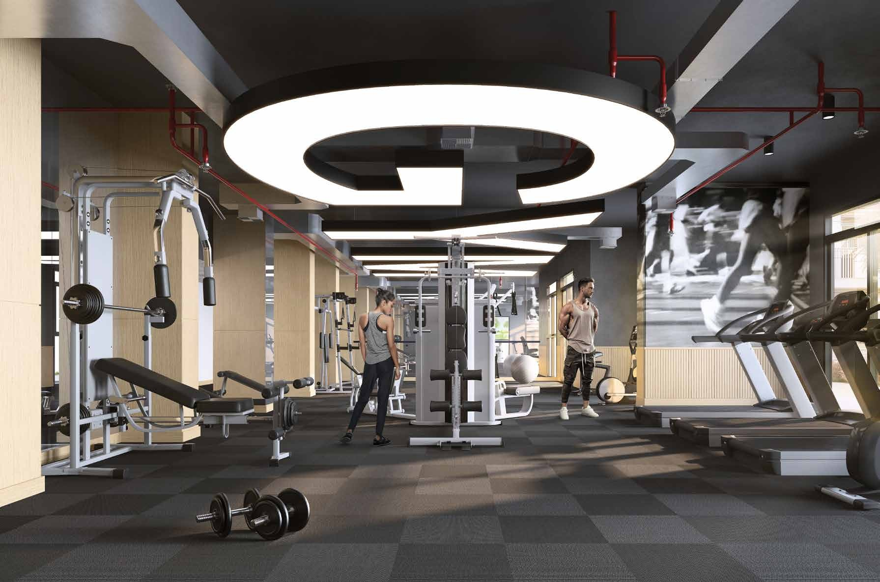FULLY EQUIPPED FITNESS CENTRE