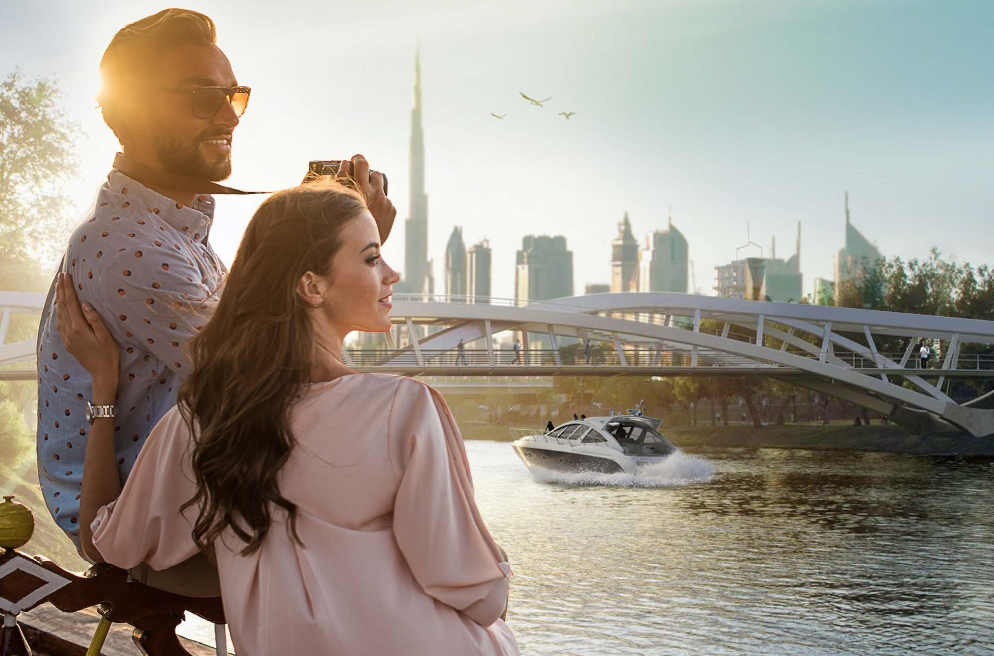 IN THE HEART OF DUBAI AND ALONG THE CANAL
