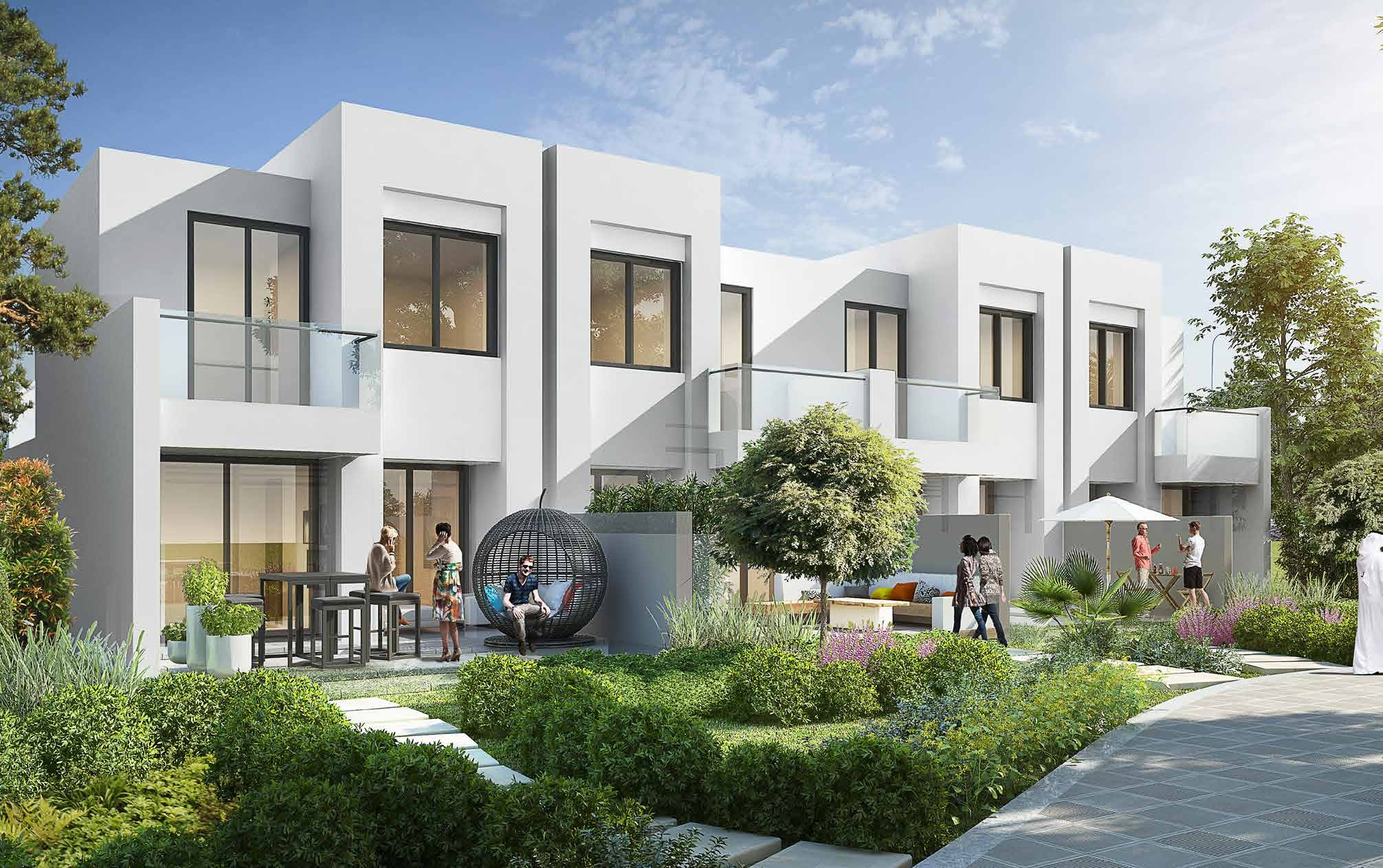 Large 4 bedroom villas