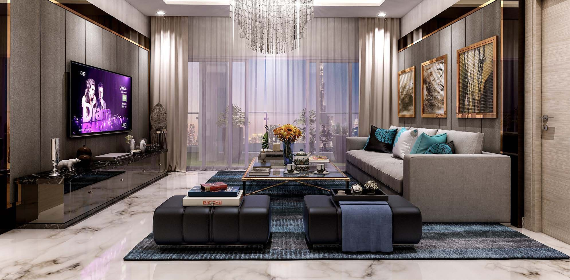 Modern Urban Luxury 102 Two Bedroom Apartments