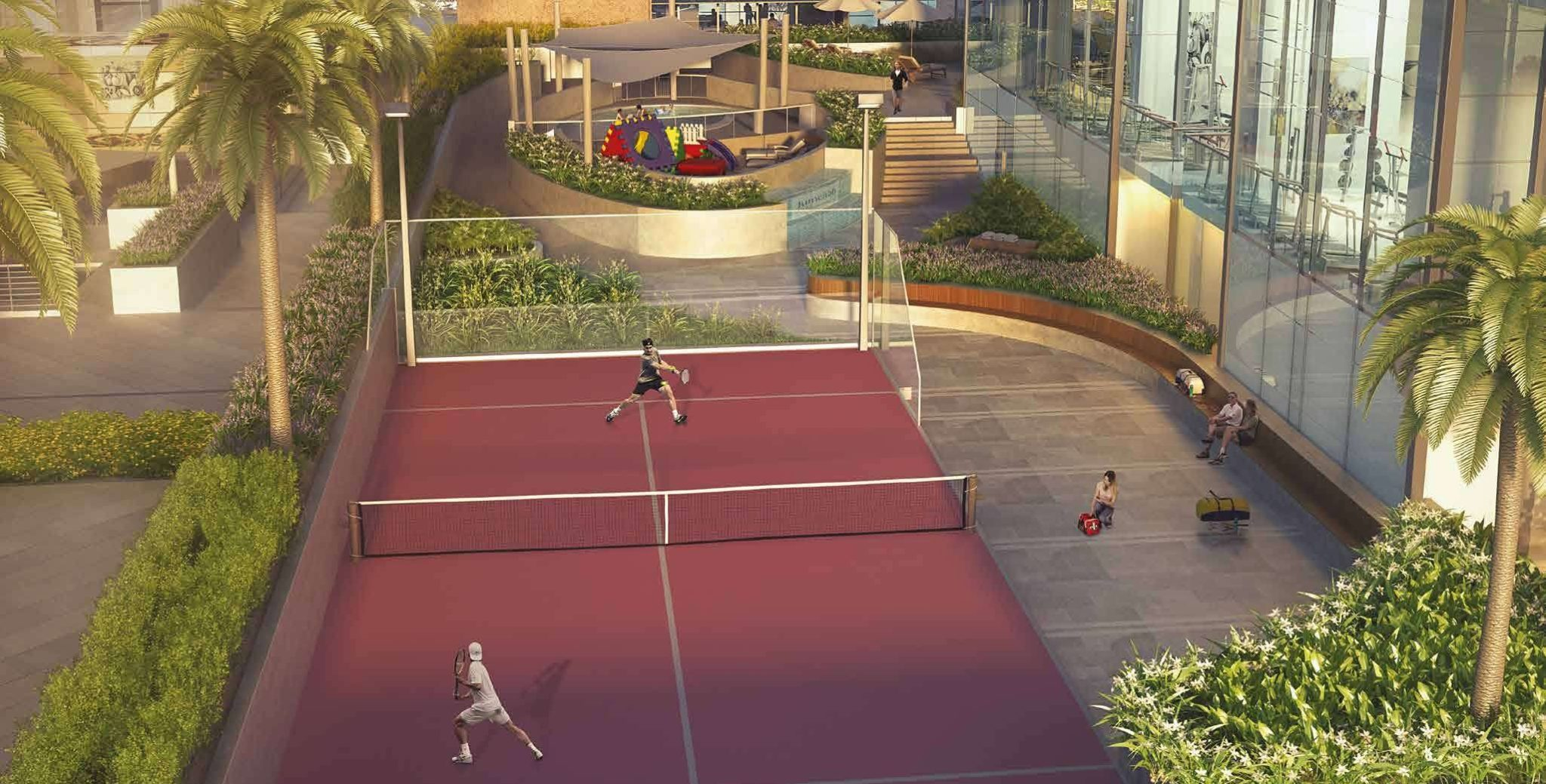 OPEN AIR PADDLE TENNIS COURT