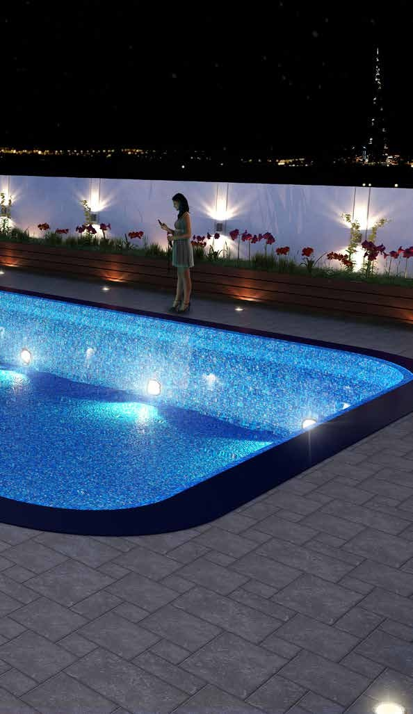 ROOFTOP POOL WITH SUN AND STARS ATTACHED 01