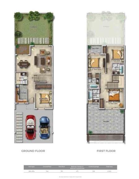 Row villas 12