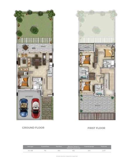 Row villas 14