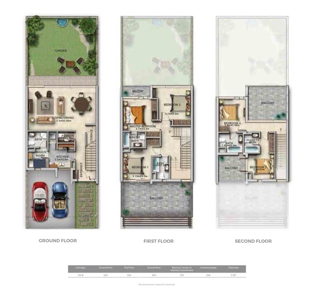 Row villas 20