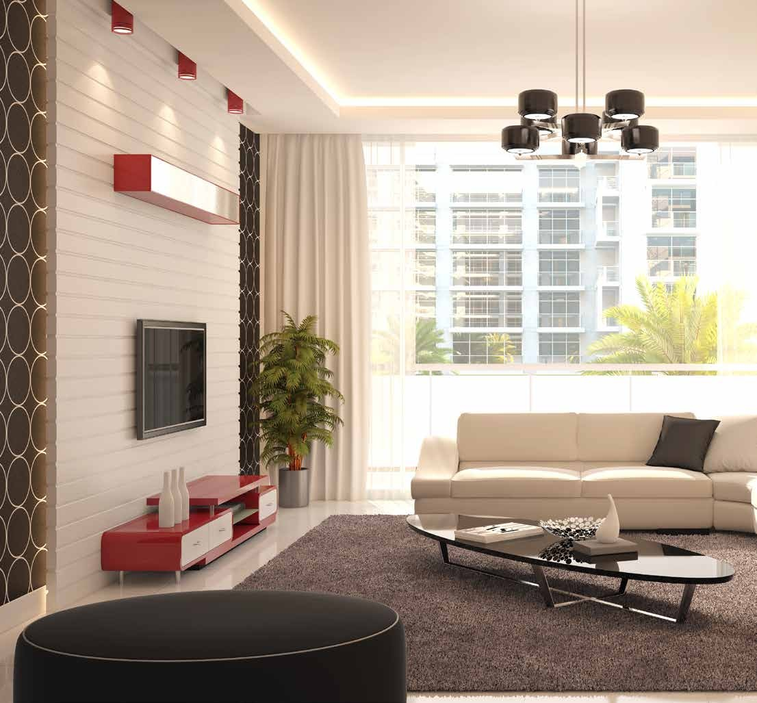 SPACIOUS LIVING AREA TO SUIT YOUR LIFESTYLE