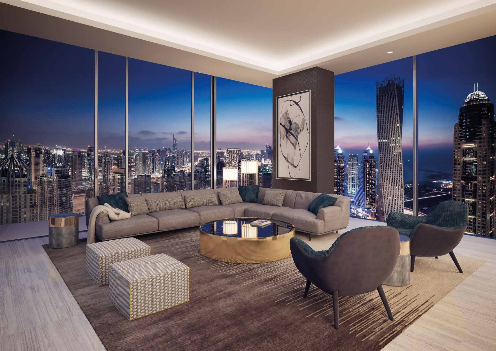 THE PENTHOUSE LIVING ROOM