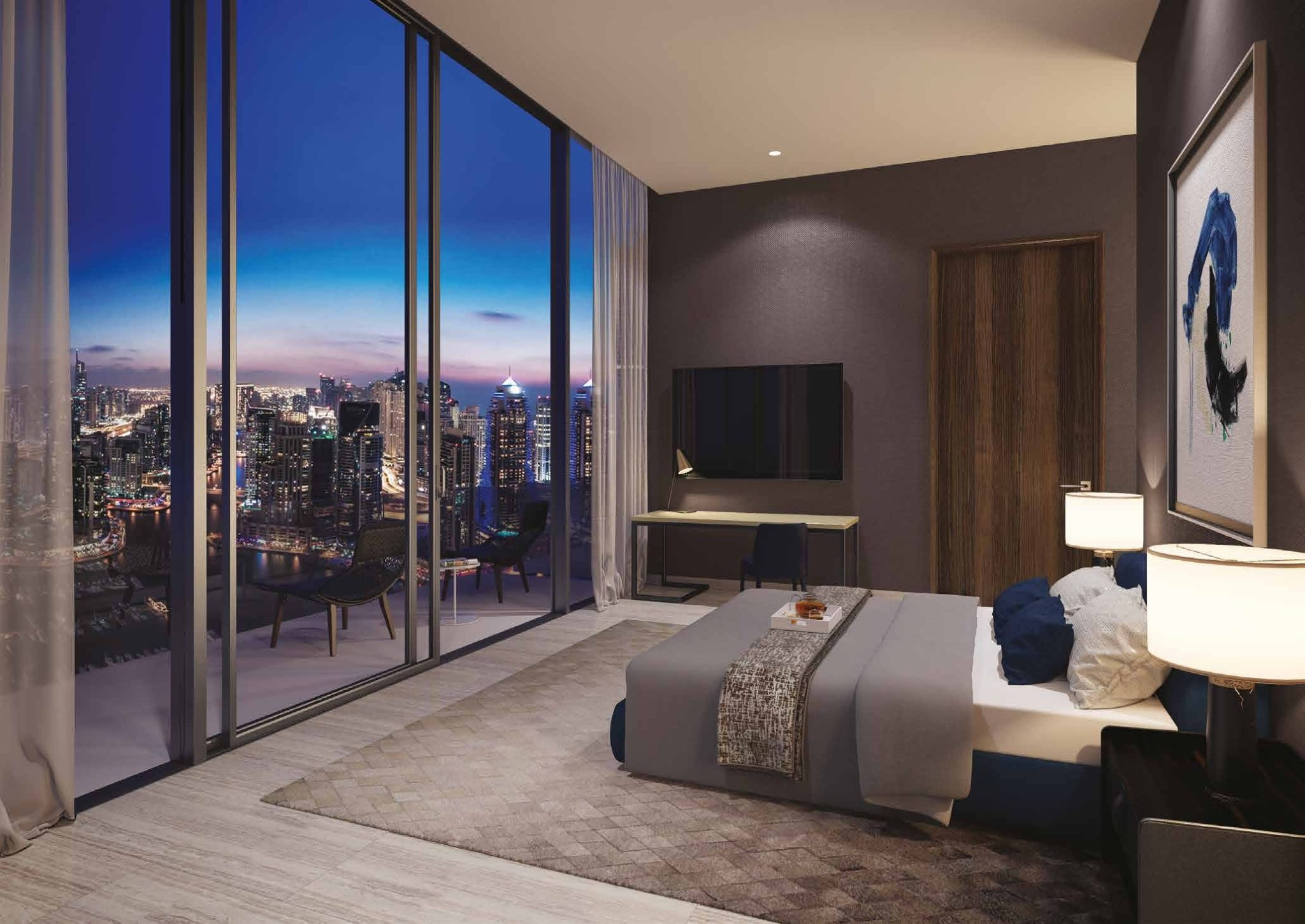 THE PENTHOUSE MASTER BEDROOM