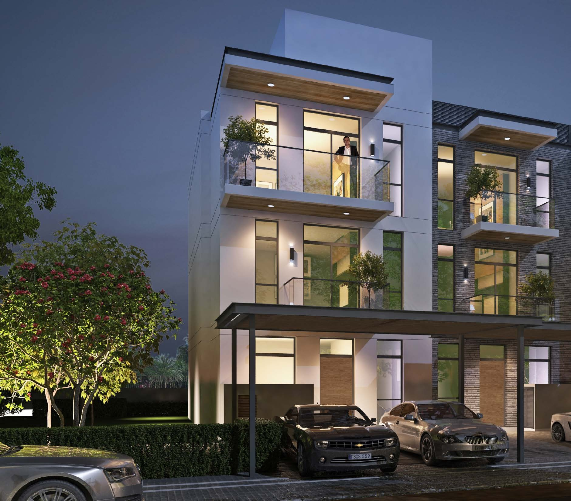 THREE LEVELS OF LAVISH SPACE AND PRIVACY