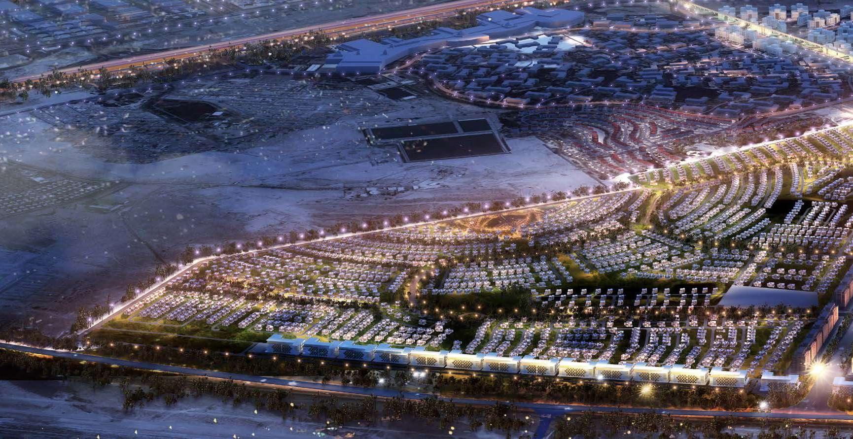 The bustling heart of New Dubai