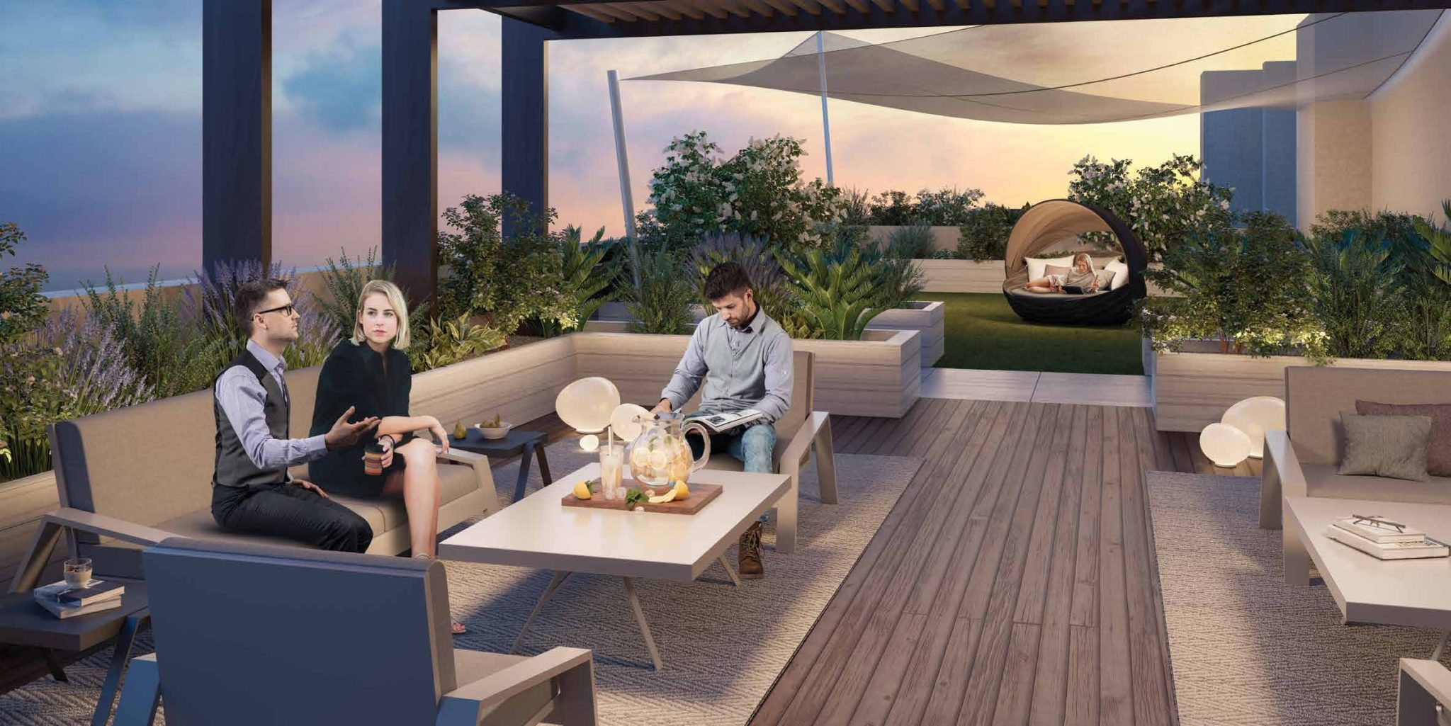 WIND DOWN IN OUR COMMUNITY- FIRST LIVING SPACES