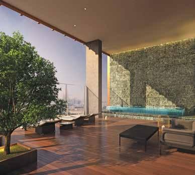 بنتهاوس 3 4– غرف نوم 743–515 متر مربع