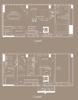 سكاي فيال 3 4– غرف نوم 723–493 متر مربع 02