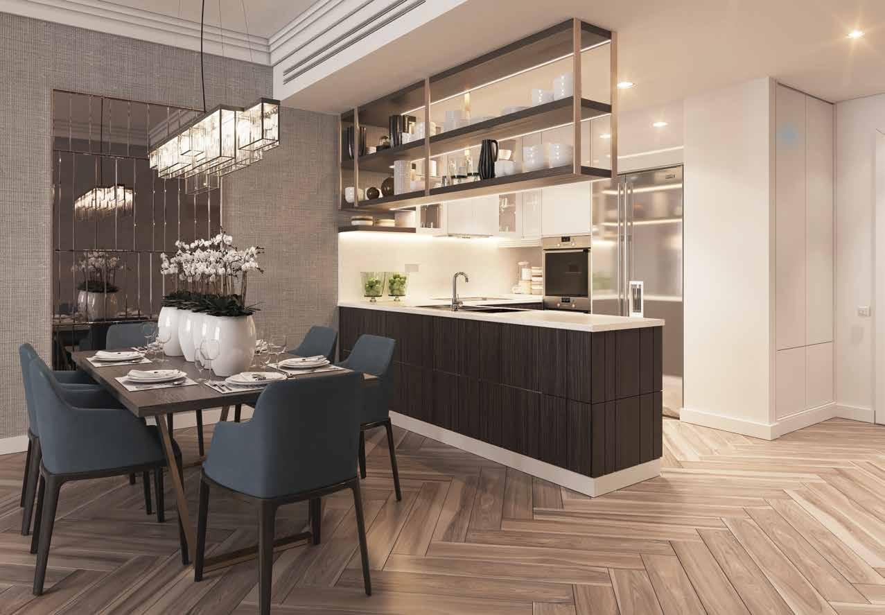 شقة 2 غرف نوم 177–121 متر مربع 01