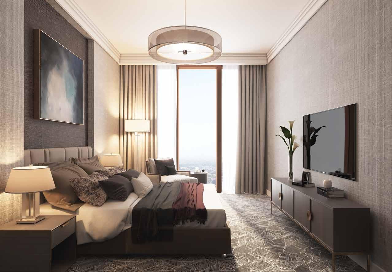 شقة2 غرف نوم (شرفة) 215–210 متر مربع 01