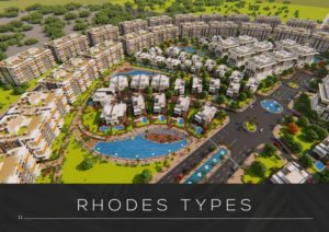 Rhodes is the foremost promising compound developed by Plaza Gardens