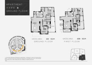 شقة للبيع146م فى رودس العاصمة الاداريه مع حمامات سباحة منتشرة فى جمبيع الكمبوند - العاصمه الاداريه الجديده شقة2 غرف2 حمام 146 متر² - السعر 1,460,000جنية - سعر المتر 10,000جنية