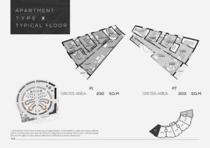 شقة للبيع243م فى رودس العاصمة الاداريه باقساط حتي 7 سنوات - العاصمه الاداريه الجديده شقة 4 غرف 3 حمام 243متر² - السعر 2,430,000جنية - سعر المتر 10,000جنية