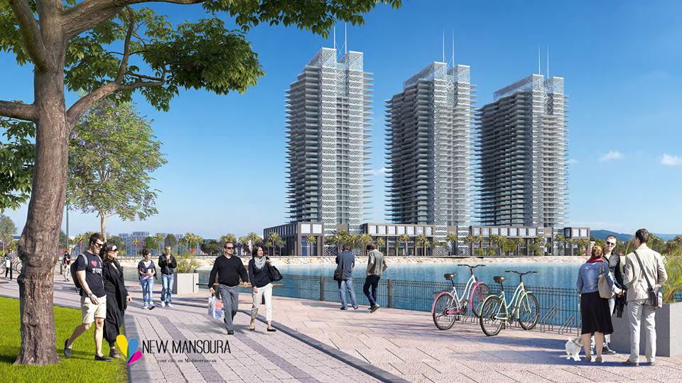 مدينة المنصورة الجديدة New Mansoura