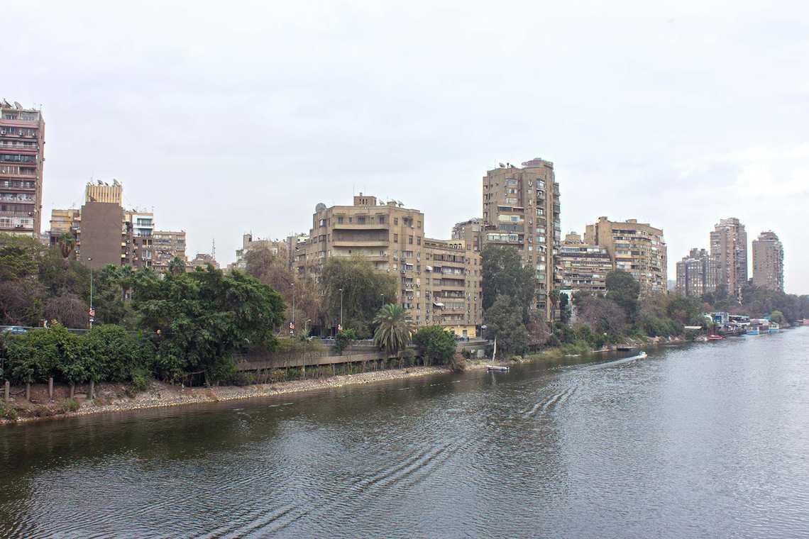 حي الزمالك يطل علي النيل مباشرة