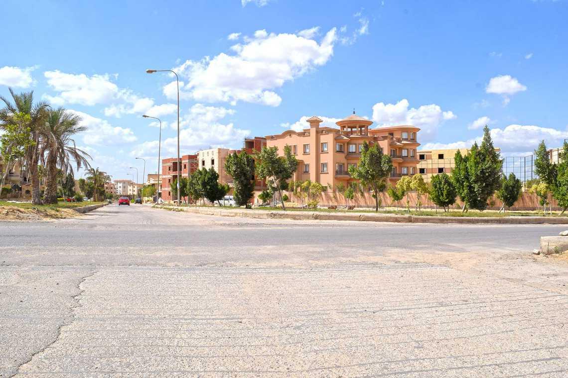 النشاط الزراعى بمدينة العبور