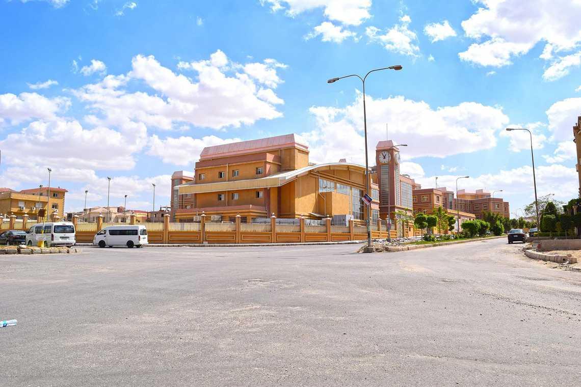 القسم السكنى لمدينة العبور