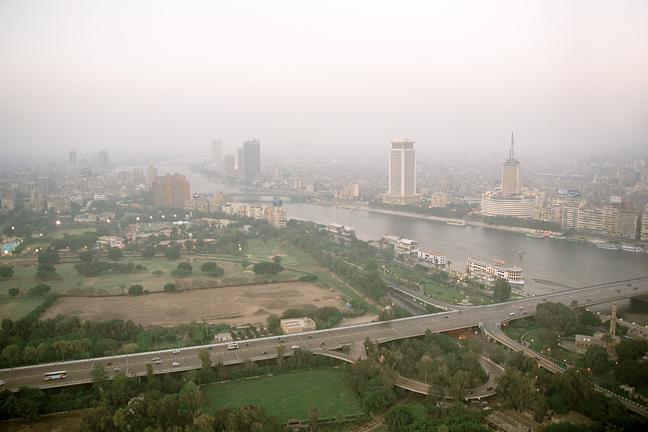 موقع حى الزمالك بالقاهرة
