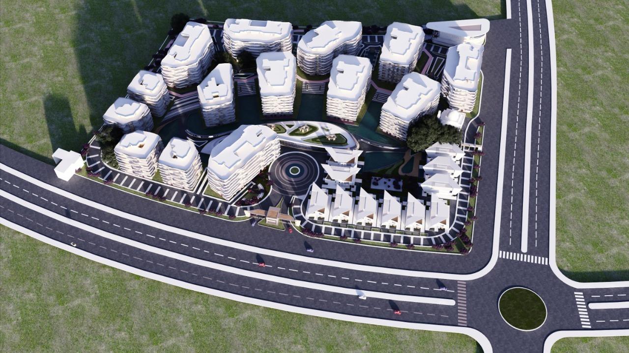 التصميم المبدئي المتوقع لكمبوند روزس العاصمة الاداريةRoses New Capital