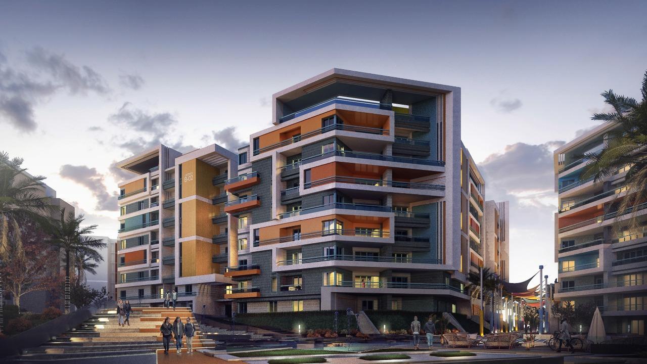 شقة بكمبوند الموندو العاصمة الادارية IL MONDO New Capital مساحة 180 متر