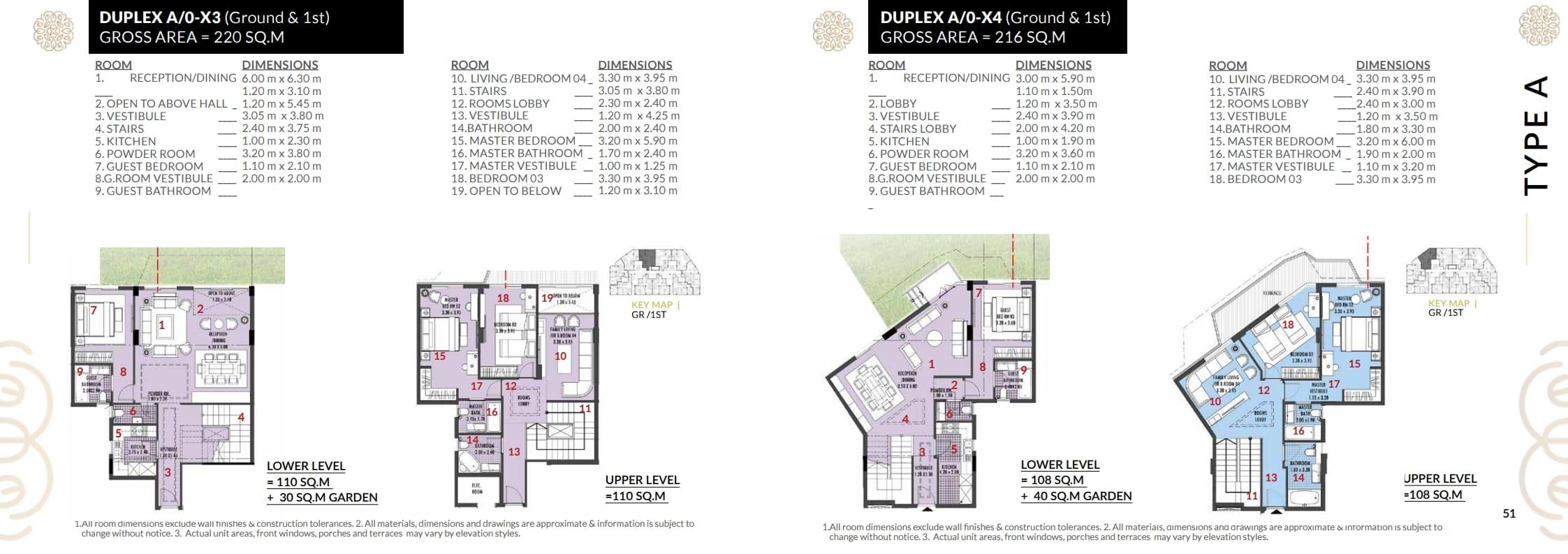 شقة دوبلكس220م للبيع بكمبوند روزس العاصمة الاداريه باقساط تصل ل9سنوات
