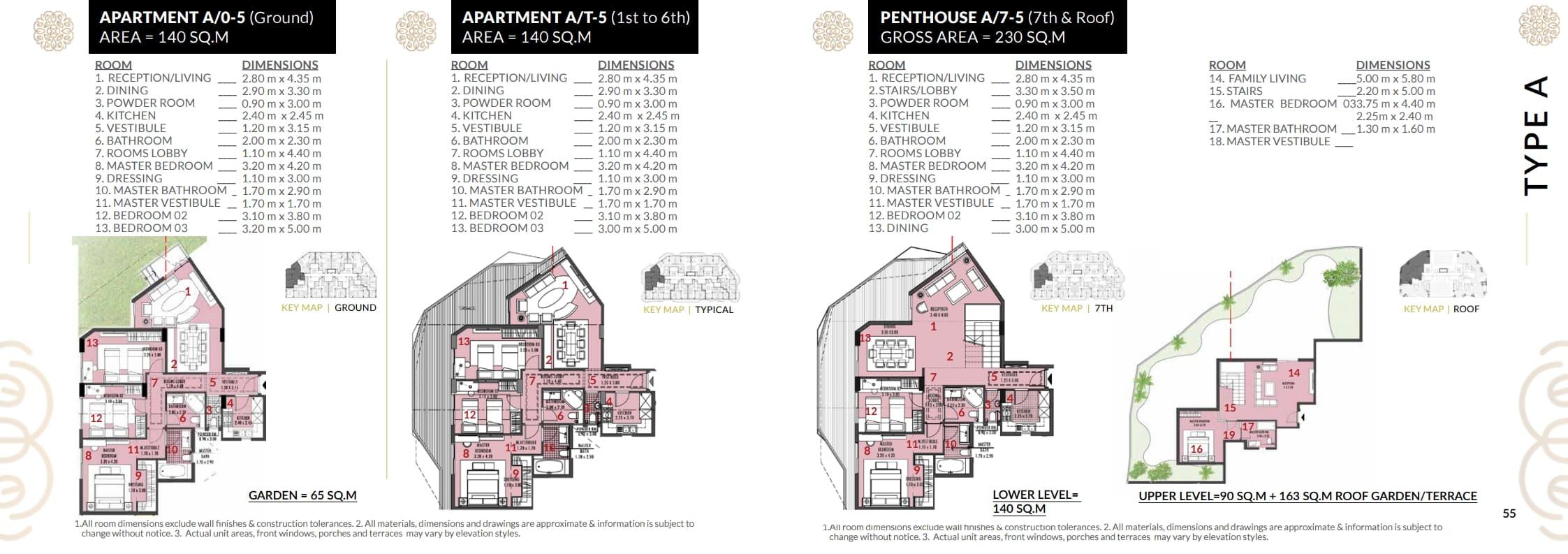 شقة140م للبيع بكمبوند روزس العاصمة الاداريه باقساط تصل ل9سنوات