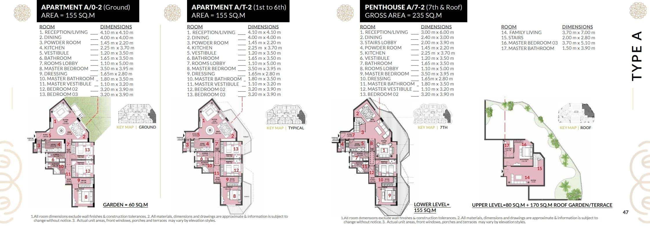 شقة155م للبيع بكمبوند روزس العاصمة الاداريه باقساط تصل ل9سنوات