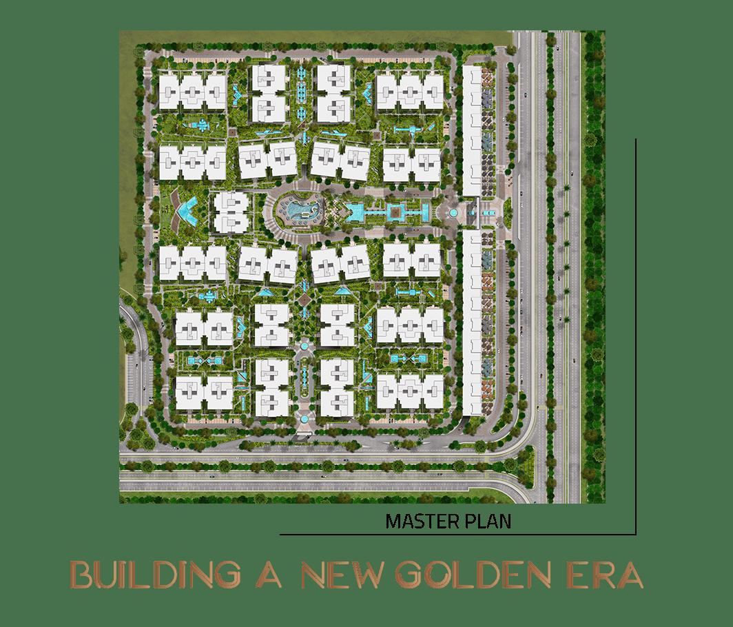 المخطط الهندسي المتوقع لكمبوند زفاني العاصمة الادارية الجديدة