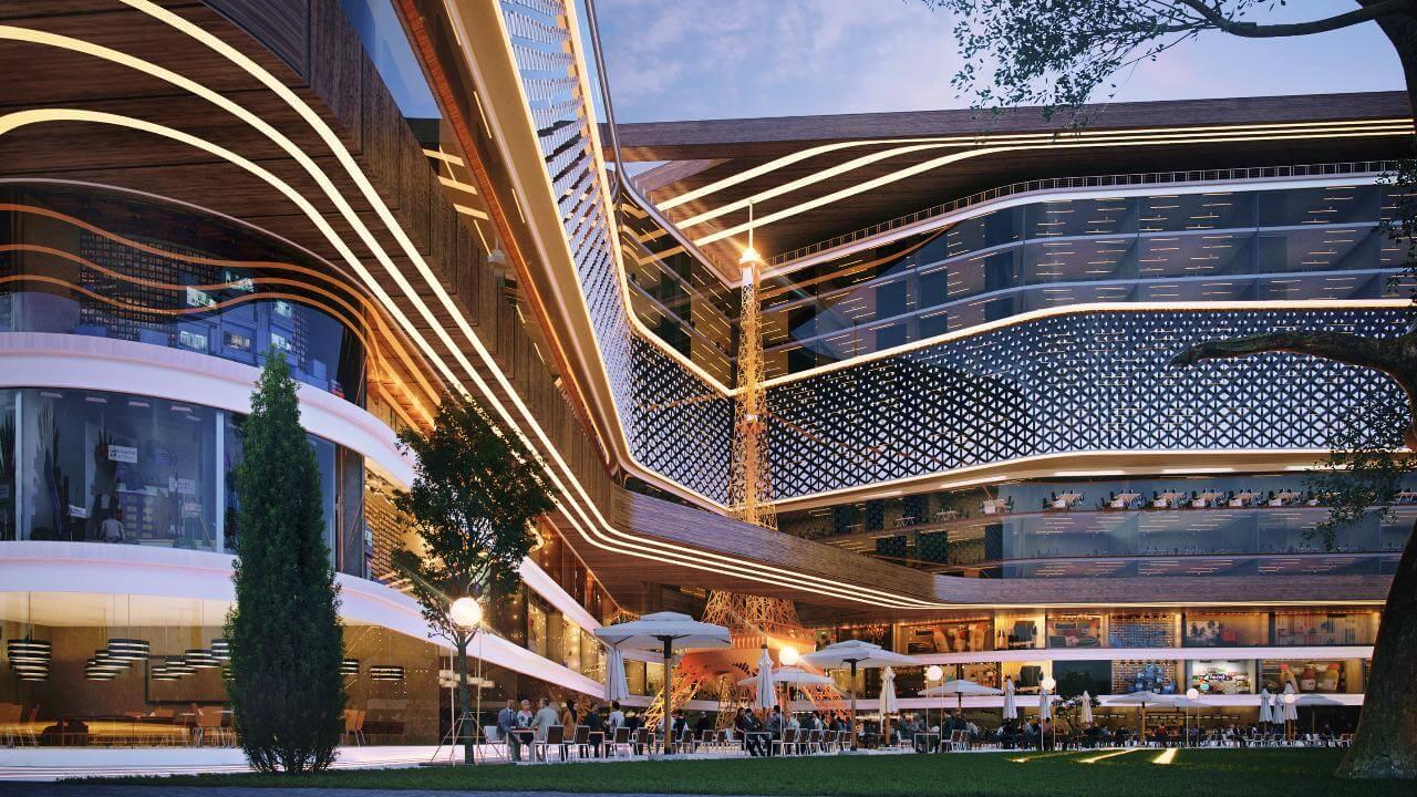 باريس- مول -العاصمة -الادارية- الجديدة   يوفن paris mall new capital