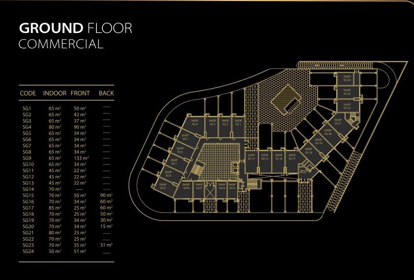 أنواع و أسعار المكاتب و الوحدات في مول فرونت جيت العاصمة الادارية الجديدة