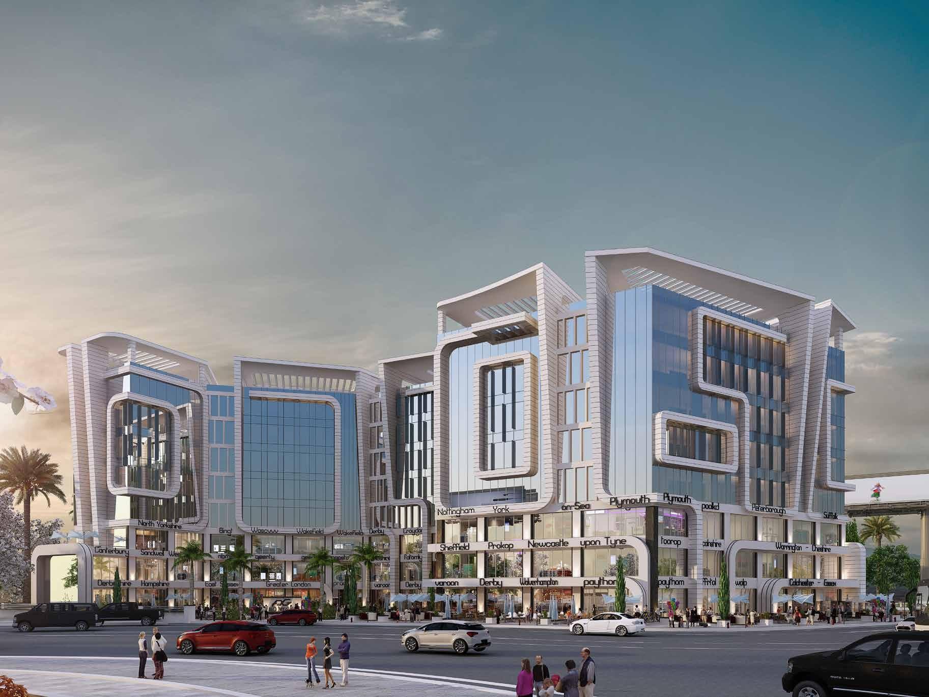 تفاصيل مشروع مول فرونت جيت العاصمة الادارية الجديدة
