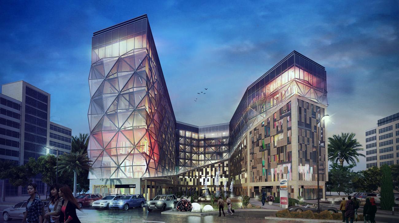 مساحات مشروع ديسكفري مول العاصمة الجديدة