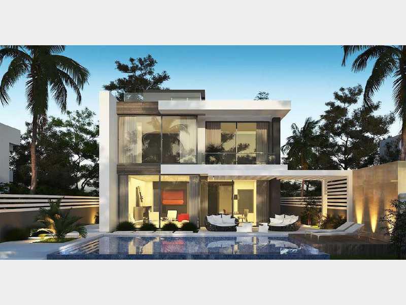 فيلل ووحدات كمبوند ذا كراون بالم هيلز 6اكتوبرThe Crown Palm Hills 6 October