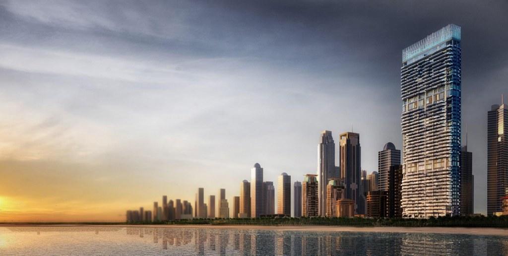 برج وان جى بى أر جميرة دبى One JPR Jumeirah Dubai