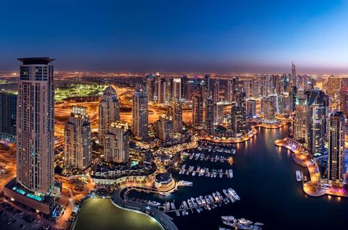 تصميم دبى مارينا Dubai Marina