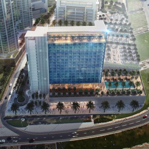فندق ذا وان الخليج التجارى The One Hotel At Business Bay (شركة ذا فيرست جروب )